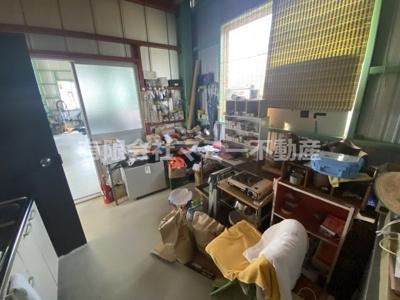 【内装】菰野町事務所付倉庫