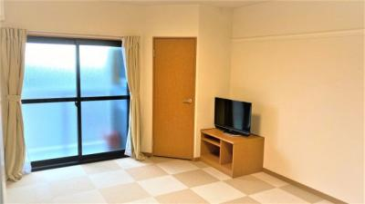 カウンターキッチンのお部屋、TV付き