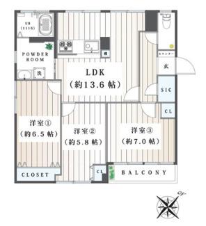 多摩佐佐木第1マンション オーナーチェンジ物件