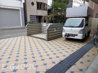 【エントランス】ワコーレペイサージュ神戸