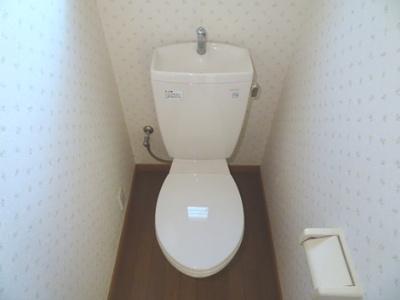 【トイレ】リバーサイドハイツC