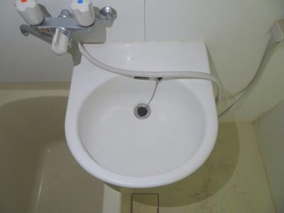 【洗面所】リバーサイドハイツC