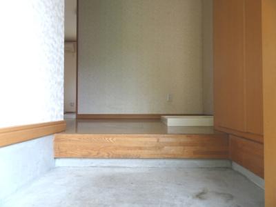 【玄関】リバーサイドハイツC