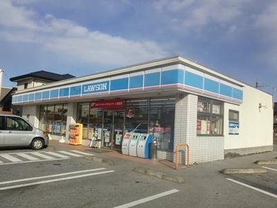 ローソン 愛知川市店(558m)