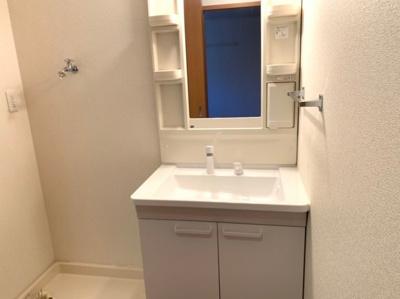 スペースが確保できる洗面所です 【COCO SMILE】