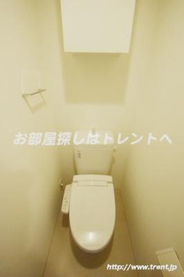 【トイレ】アップルレジデンス水道橋【APPLE RESIDENCE】