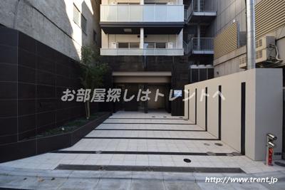 【エントランス】アップルレジデンス水道橋【APPLE RESIDENCE】