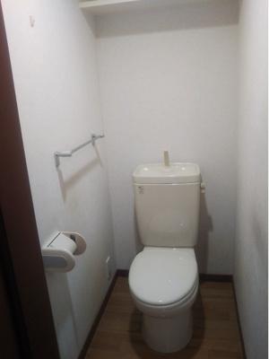 やっと独りの時間を有意義に!でも長居は禁物だよ! リフォームで設備のついた新品トイレにイメチェン可!