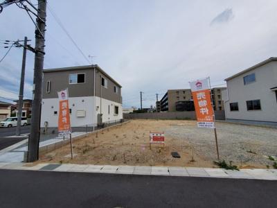 【前面道路含む現地写真】建築条件付土地 スリースターヒルズ法蓮町Part2