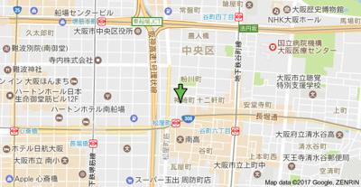 【地図】ジュネス安堂寺