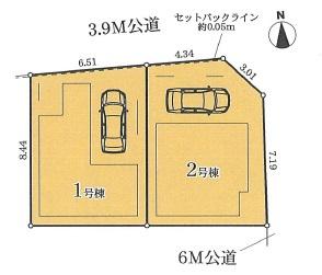 【区画図】MIRASUMO 中村区名駅南第2期【仲介手数料無料】