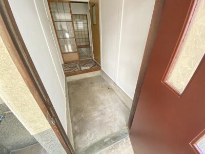 【玄関】加納7丁目テラスハウス