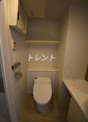 【トイレ】パークアビタシオン麻布十番
