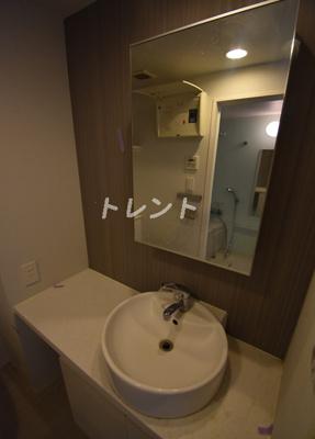 【洗面所】パークアビタシオン麻布十番