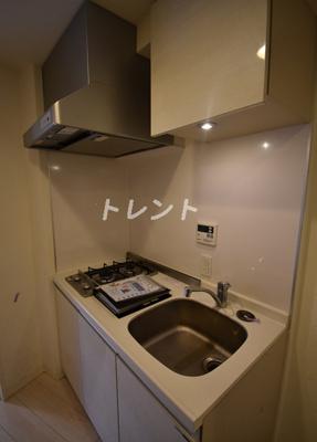 【キッチン】パークアビタシオン麻布十番