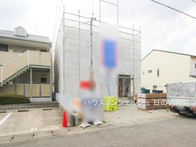 【外観】名古屋市中村区橋下町20-72【仲介手数料無料】新築一戸建て 2号棟