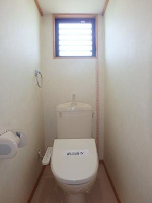 大島 オアシス六番館 1K トイレ