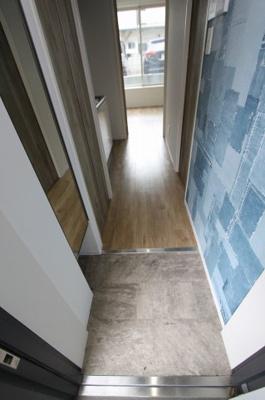 壁紙はお部屋によって異なります。