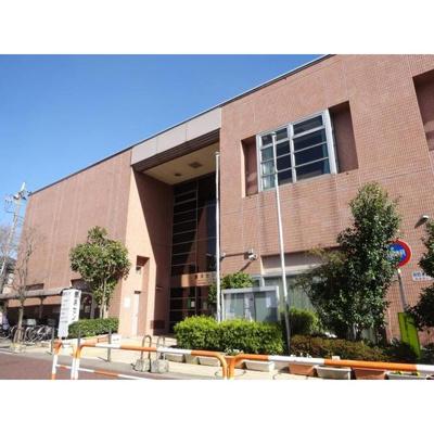 図書館「区立鹿浜図書館まで476m」区立鹿浜図書館
