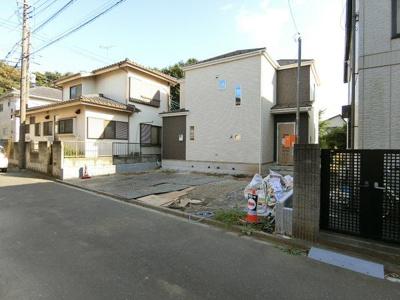 【前面道路含む現地写真】新築分譲 松戸市金ケ作