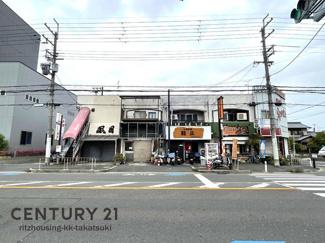 事業用テラスハウス、店舗・事務所等 元々1Fテナントは飲食店、2Fテナントは麻雀荘として利用されていました。