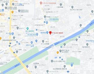【地図】ガーデン築山