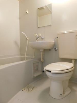 【浴室】ハウスニジ