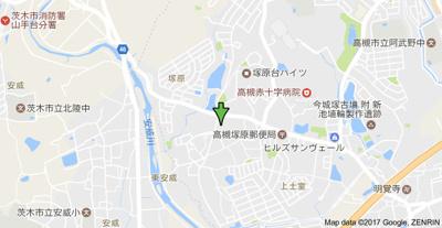 【地図】サンコーポ高槻阿武野 (株)Roots