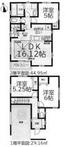 名古屋市中村区下中村町3丁目39−2 【仲介手数料無料】新築一戸建ての画像