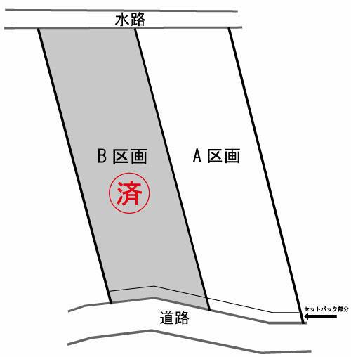 【土地図】長尾2丁目 売地