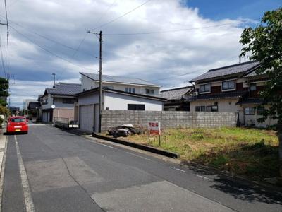 【前面道路含む現地写真】鳥取市国安土地