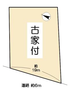【土地図】近江八幡市野村町 中古戸建