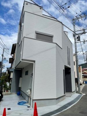 【外観パース】東大阪市下六万寺町3丁目 新築戸建