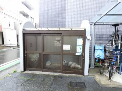 ゴミ置き場スペースです。