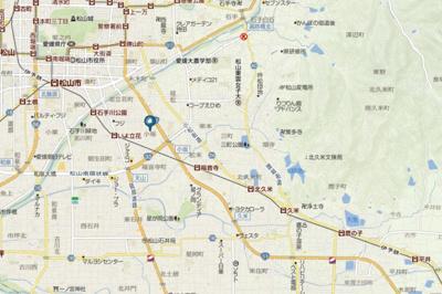 【地図】ポピーハイツ・