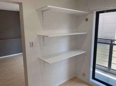 キッチンの収納スペースです。