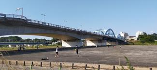 550m 丸子橋