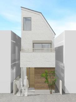外観は自由に変更可能なセミオーダー住宅です。
