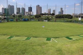 500m 多摩川ゴルフ練習場