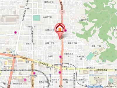 【地図】明山