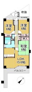 ジオ川西多田 4階