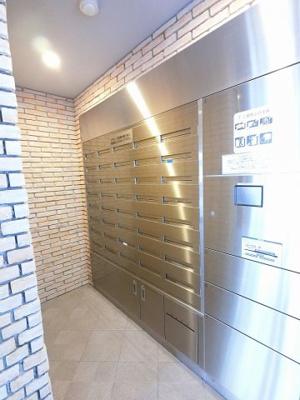 電子キー対応メール・宅配ボックス採用です。