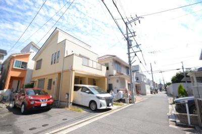 【前面道路含む現地写真】堺市西区浜寺諏訪森町 戸建