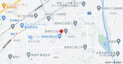 【地図】マンションふじ2号館
