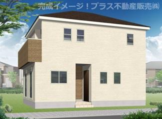 外観イメージ。建築中の物件は、お近くのモデルハウスも一緒にご覧頂けます。
