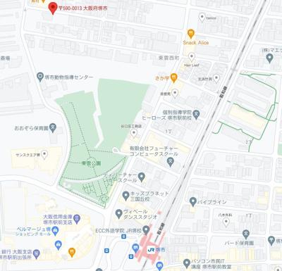【地図】駅徒歩約5分!!築浅デザイナーズ一棟アパート