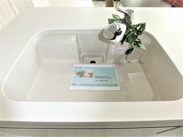 浄水器一体型水栓で飲料水をお家でも作れます☆