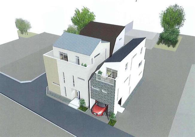 外観完成イメージパース 実際の建物とは異なる場合があります。