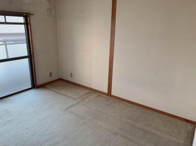 6帖のゆったりとした洋室です。