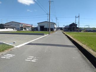 【前面道路含む現地写真】SUNタウン中央C号地